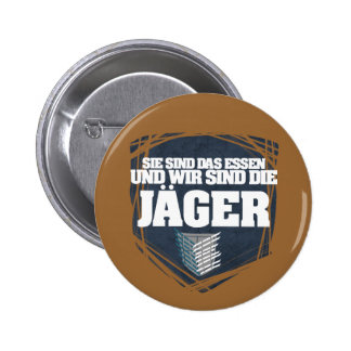 Hunter 6 Cm Round Badge