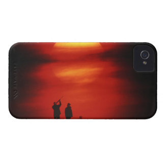Hunter and Dog Case-Mate iPhone 4 Case