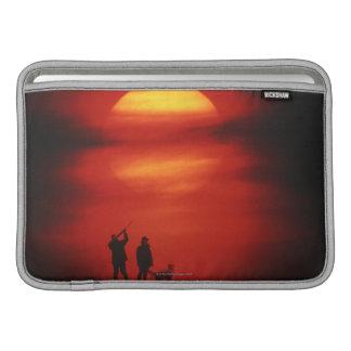 Hunter and Dog MacBook Sleeve
