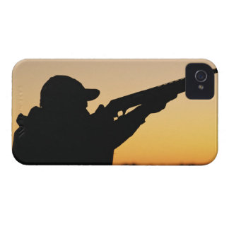 Hunter and Gun iPhone 4 Case-Mate Cases