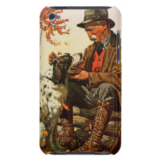 Hunter and Spaniel Barely There iPod Cases