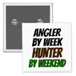 Hunter Angler Buttons