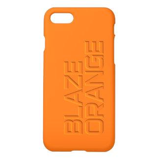 Hunter Blaze Orange High Visibility Hunting iPhone 7 Case