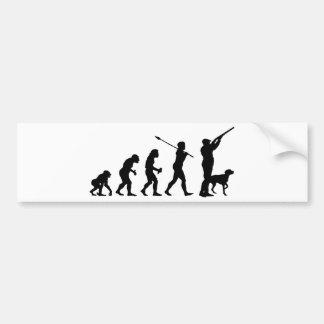 Hunter Bumper Sticker