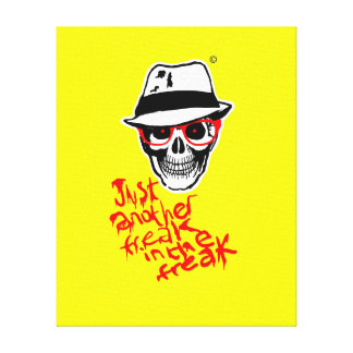 Hunter Dead Thompson Canvas Gallery Wrapped Canvas