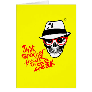 Hunter Dead Thompson Greeting Card