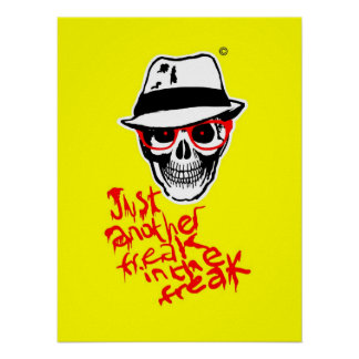 Hunter Dead Thompson poster