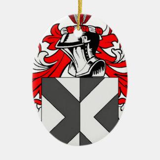 Hunter (English) Coat of Arms Christmas Ornament