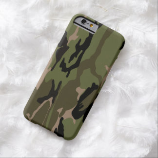 Hunter Green Camo Barely There iPhone 6 Case
