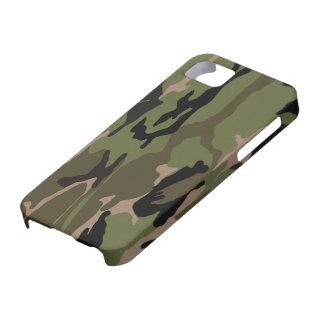Hunter Green Camo iPhone 5 Covers