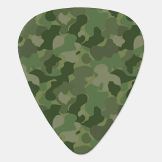 Hunter Green Camouflage Plectrum