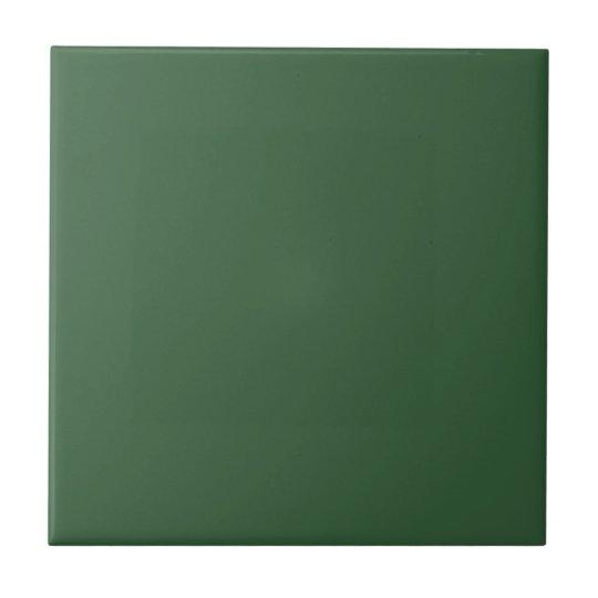 Hunter Green Small Square Tile