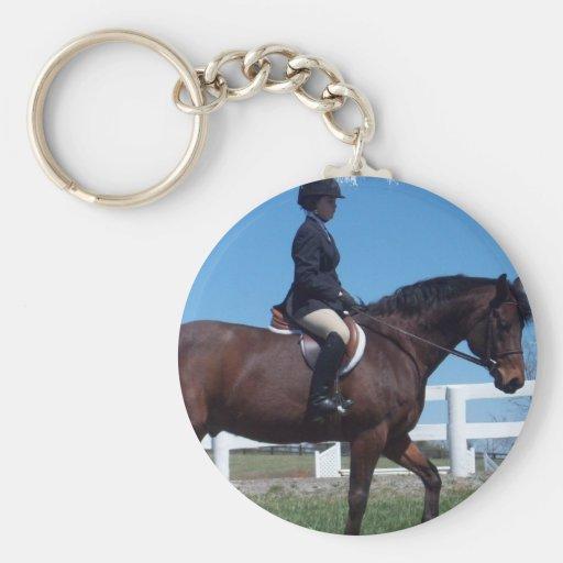 Hunter Horse Show Keychain