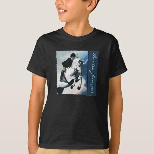 Hunter Jumper Acrylic Painting T-Shirt