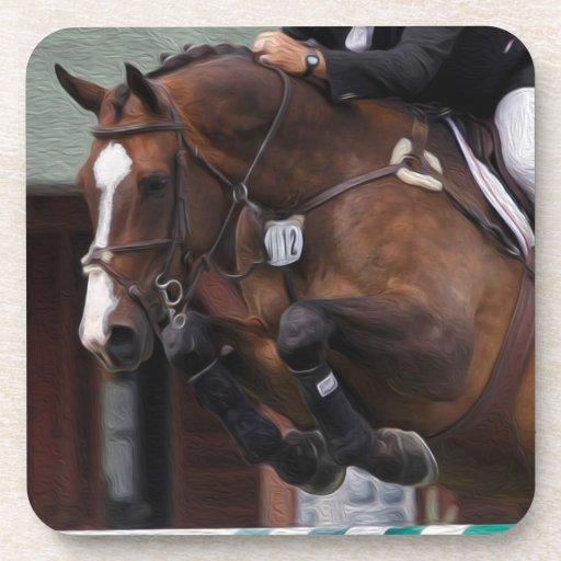 Hunter/Jumper-Equestrian Art Coasters