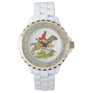 Hunter Jumper Horse Fox Hunting Horseback Rider Watch