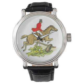 Hunter Jumper Horse Fox Hunting or Trail Ride Watch
