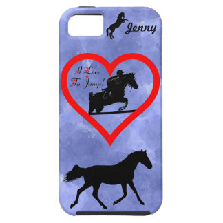 Hunter Jumper Horse iPhone 4 Case