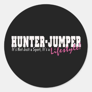 Hunter Jumper Horse Sticker