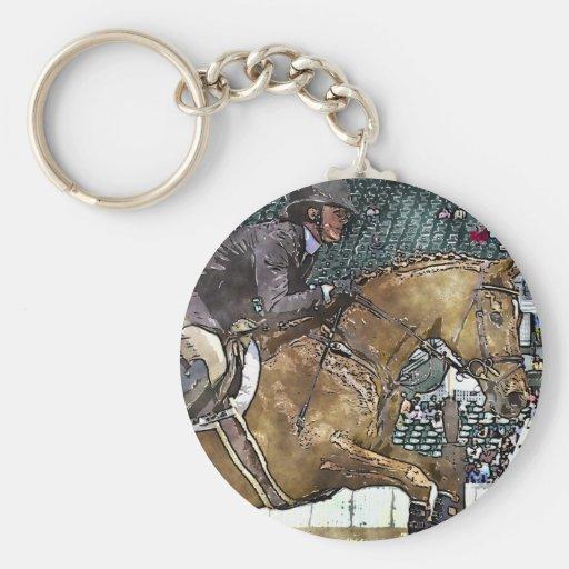 Hunter Jumper Keychain