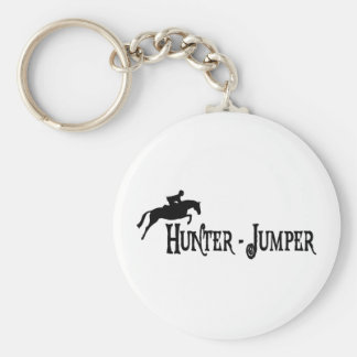 Hunter Jumper (pirate style) Basic Round Button Key Ring