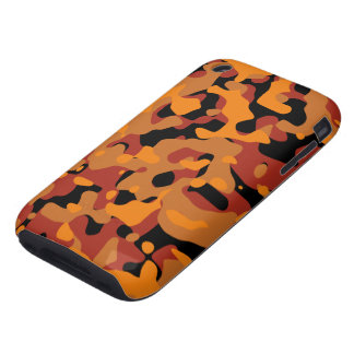 Hunter Orange Camouflage Tough iPhone 3 Cover