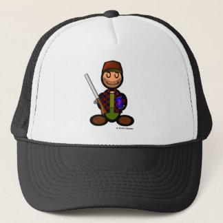 Hunter (plain) trucker hat