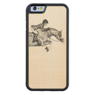 Hunter Pony Pointillism Maple iPhone 6 Bumper