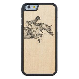 Hunter Pony Pointillism Maple iPhone 6 Bumper