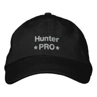 Hunter Pro Embroidered Hats