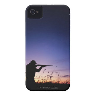 Hunter Silhouette Case-Mate iPhone 4 Case