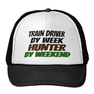 Hunter Train Driver Trucker Hats
