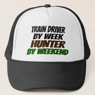 Hunter Train Driver Trucker Hat