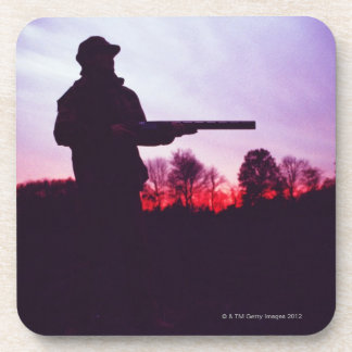 Hunter with Gun Coaster