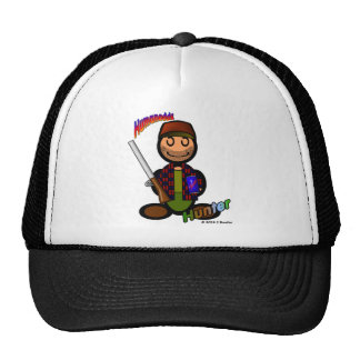 Hunter (with logos) cap