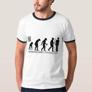 HunterGCook w/ QR Code T-shirt