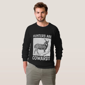 HUNTERS ARE COWARDS, ANTI-HUNTING T-shirts