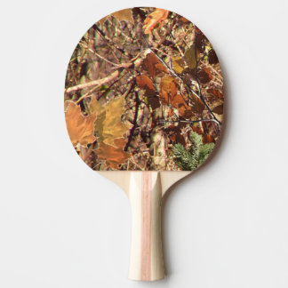 Hunter's Camouflage Painting Decor Ping Pong Paddle
