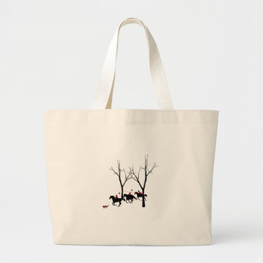 hunters hunted large tote bag