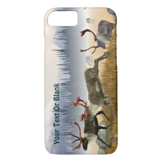 Hunters In The Mist (Caribou) iPhone 7 Case