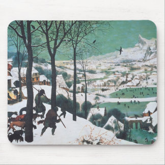 Hunters in the Snow by Bruegel Mouse Mat