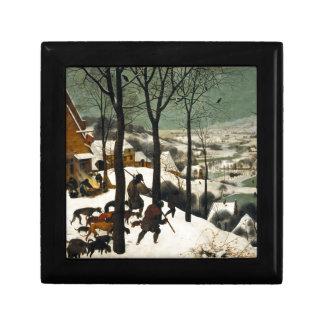 Hunters in the Snow by Pieter Bruegel the Elder Gift Box