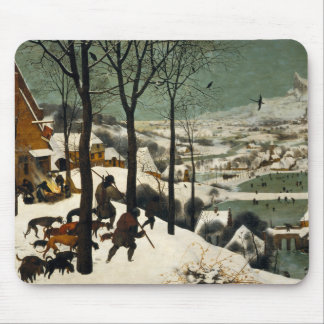 Hunters in the Snow by Pieter Bruegel the Elder Mouse Mat