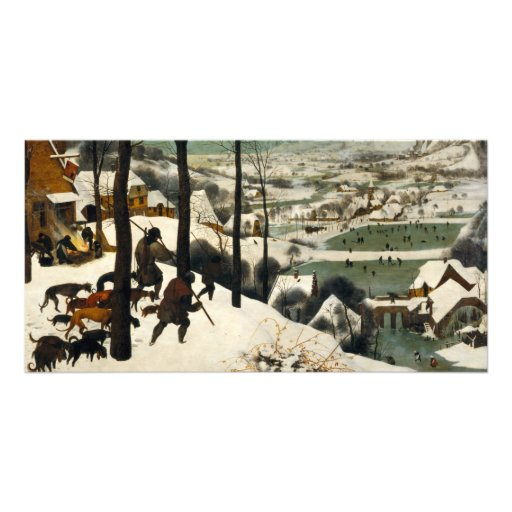 Hunters in the Snow by Pieter Bruegel the Elder Picture Card