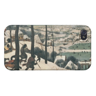 Hunters in the Snow - January, 1565 iPhone 4 Covers