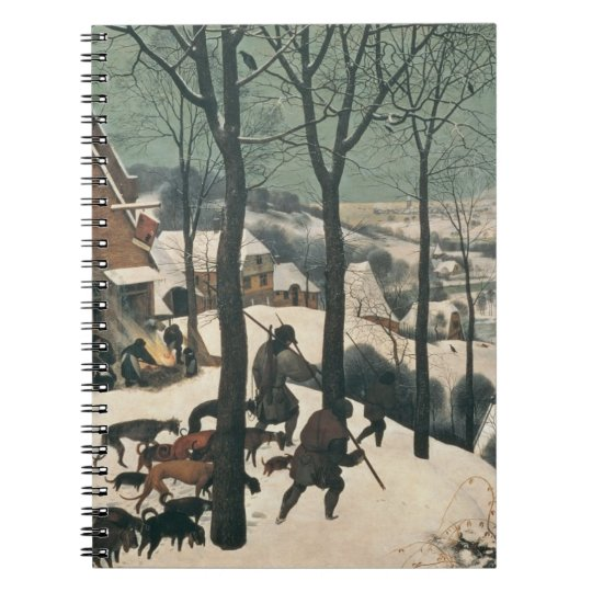 Hunters in the Snow - January, 1565 Notebook