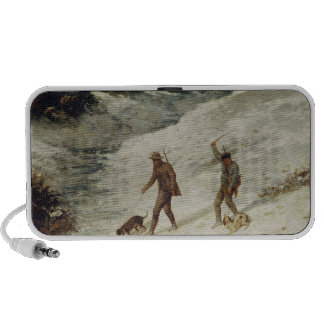 Hunters in the Snow or The Poachers Mp3 Speaker