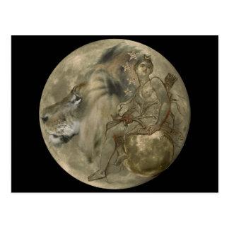 Hunter's Moon Postcard