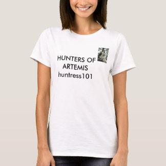 Hunters of Artemis-Huntress101 logo T-Shirt
