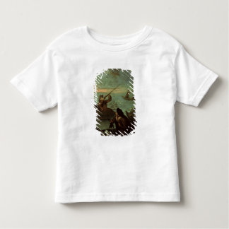Hunters Shooting at Ducks (oil on canvas) Toddler T-Shirt